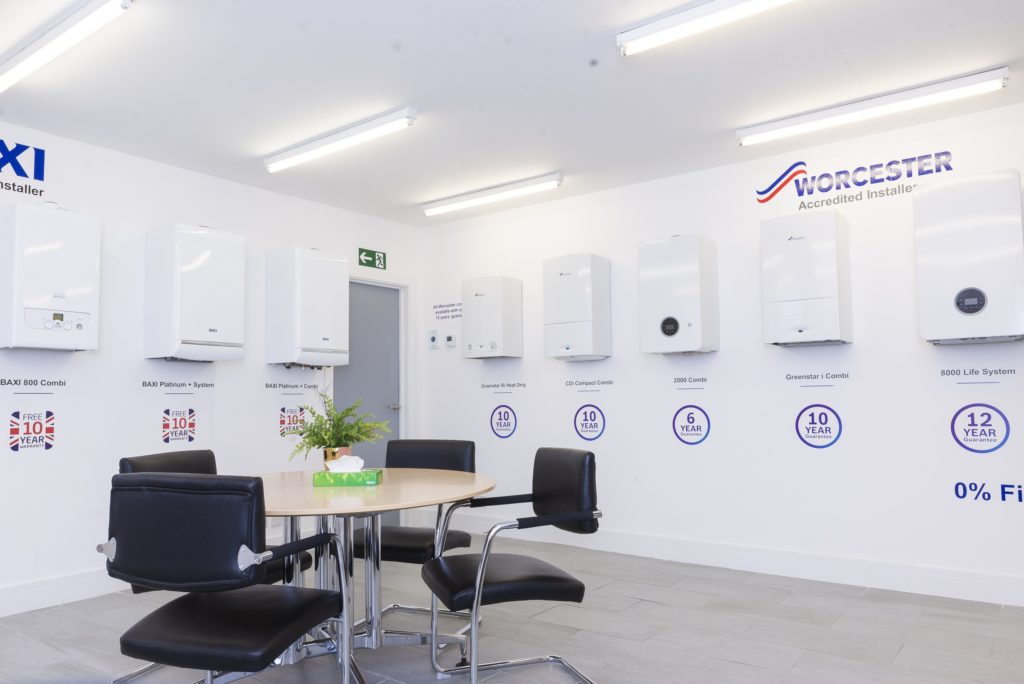chiswell heating showroom